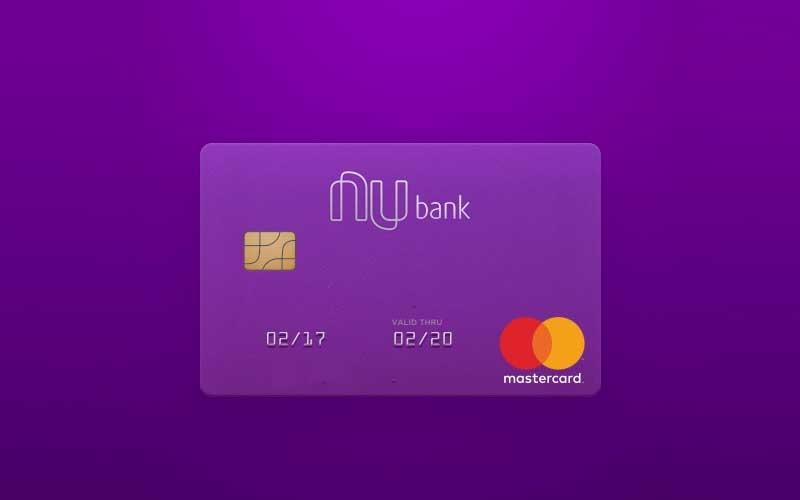 Estou gostando do cartão de crédito Nubank, faço o login no celular e recebo a fatura online