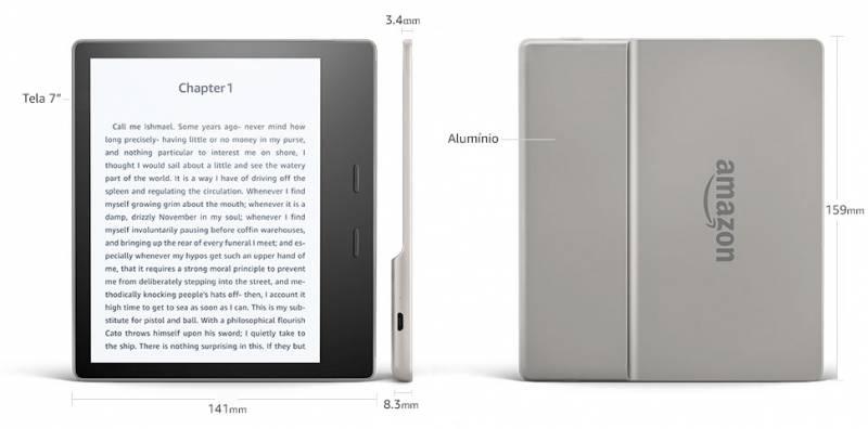 Vale a pena comprar o Novo Kindle Oasis, mas o preço é salgado