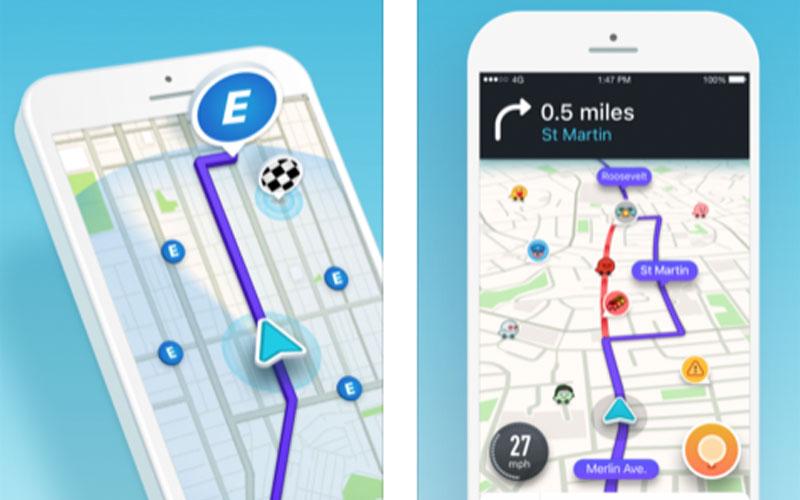 GPS Waze facilitou minha vida com o mapa ao vivo