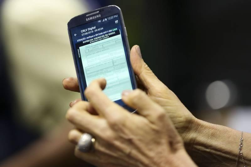 CNH digital (foto: Marcelo Camargo/Agência Brasil)