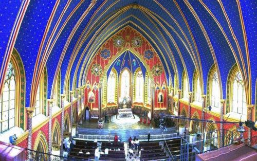 Basílica Nossa Senhora do Rosário, a igreja dos Arautos do Evangelho na Serra da Cantareira – Caieiras – SP