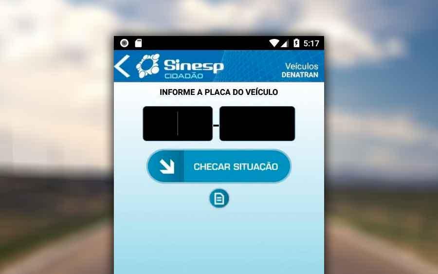 Com o app Sinesp Cidadão é fácil consultar placa de carro e moto
